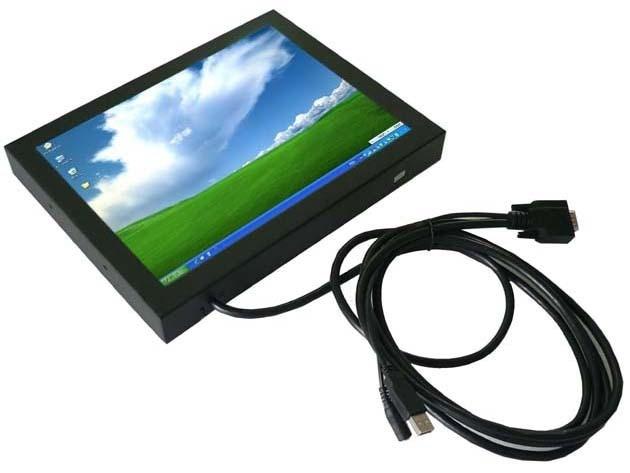 """12 """" open мультитач-монитор для сенсорного стола, Киоск и т . д . с 4 провод резистивный сенсорный экран"""