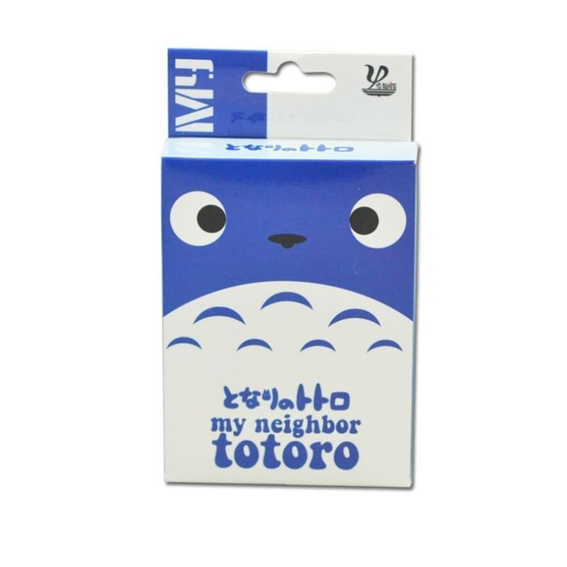 54 Sheets/Set Hayao Miyazaki Totoro Poker Cards Comics Character Collection Playing Cards Christmas Gifts