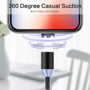 Image 5 - Acgicea מגנטי USB כבל עבור iPhone Xr Xs מקסימום X 8 7 6 6s בתוספת 5S se מהיר טעינה טלפון נייד כבל מגנט מטען חוט