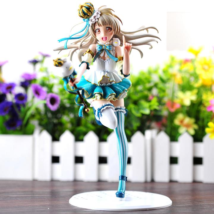 Lovelive figures Minami Kotori School Idol 1/7 scale pre-panted Love llive figure Snow Ver. 23cm pvc anime girl free shipping ковер love of snow