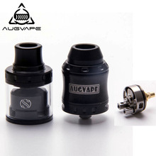 цена Augvape Merlin Mini RTA & RDA Top Cap Kit With 24mm 2ml RTA Tank Stainless Rda Atomizer Electronic Cigarette Atomizer Vape Tank в интернет-магазинах