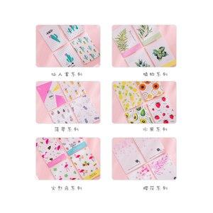 Image 4 - 40 paczek/partia Korea kreatywna mała świeża seria malarska notatnik przenośny przenośny notatnik sześć wyboru