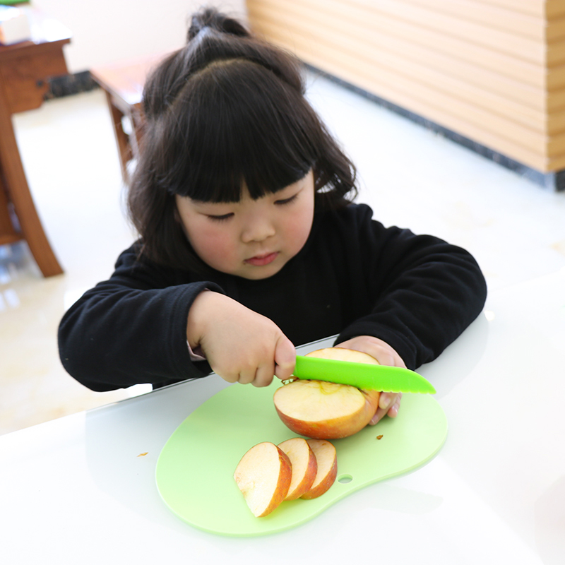 Plastic Knife Cut Pumpkin Child Safety Theme Supplies Disposable Plastic Knives Baby Birthday Party Decoration Kids Favors Set
