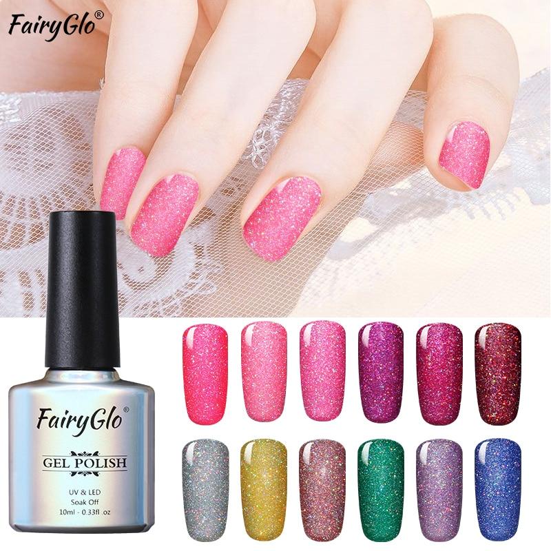 FairyGlo Neon Nail Polish 10ML Stamping Paint Nail Polish Nail Art ...