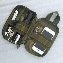 1000D нейлоновая Тактическая Военная EDC Molle сумка маленькая поясная сумка для охоты карман для Iphone 6 7 для samsung уличные спортивные сумки