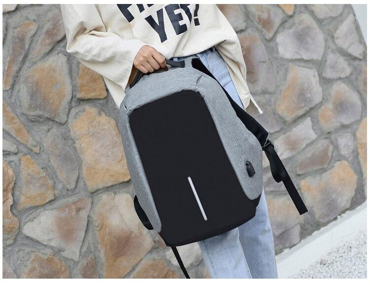 Sac à dos pour ordinateur portable USB 13