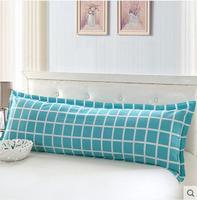 New product Cotton double pillowcase Pure cotton single pillow pillow core set of 1.2/1.5/1.8 m meters long pillow cases Free sh