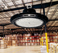 Вело высокий свет залива 100 Вт 150 Вт 200 Вт Светодиодные лампы промышленной стадион Семинар свет склада завода Garage Освещение