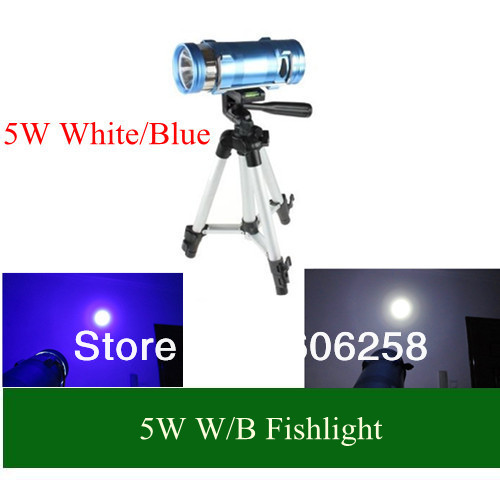 aliexpress : buy 5w blue / white led source rechargeable, Reel Combo