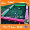 Free Shipping Inflatable Snooker Football Field Snooker Game Giant Inflatable Table Pool With Balls For Sale