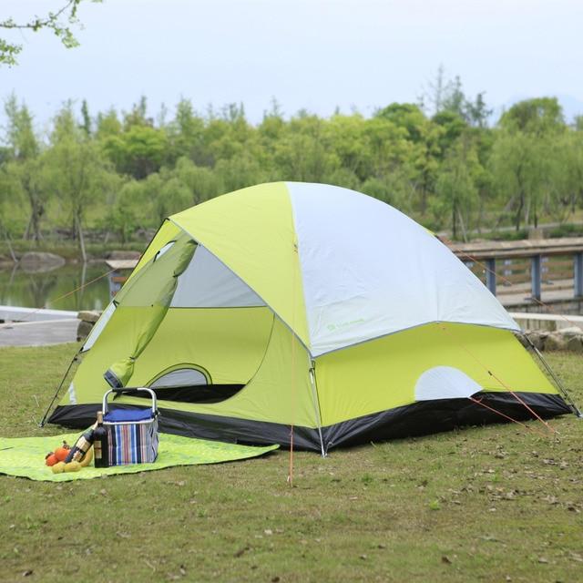 STARHOME 3-4 Person Family C&ing Tent Waterproof Fishing Beach Tent Fiberglass Lightweight Outdoor Hiking & STARHOME 3 4 Person Family Camping Tent Waterproof Fishing Beach ...