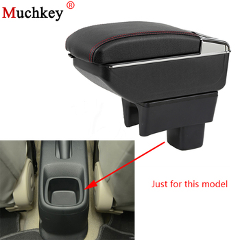 Armrest Box For SUZUKI SX4 Central Console Arm Store Content Box Cup Holder Ashtray With Rise And Down Function Car Styling