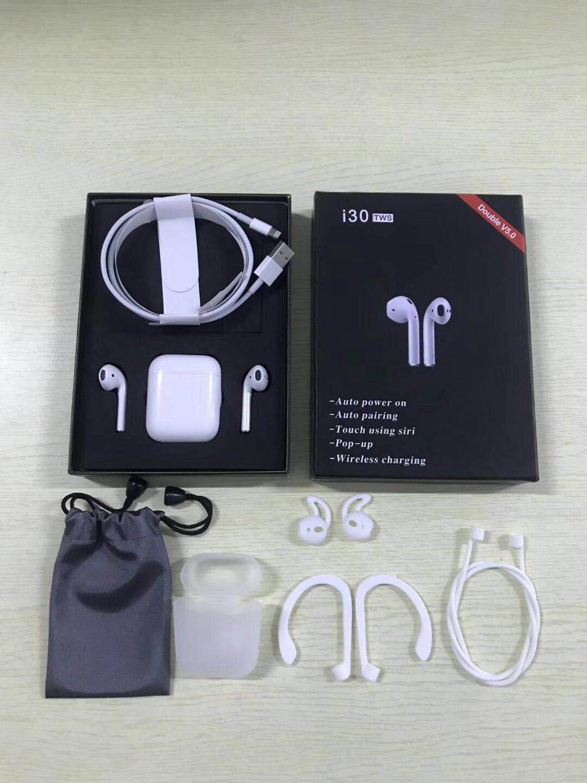 2019 Pop-up I30 Tws Bluetooth 5.0 Earphone 4d Super Bass Earbuds Wireless Headset Pk W1 Chip Better Than I10 I12 I13 Tws