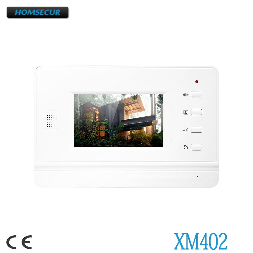 Sicherheit & Schutz Innen-monitor Mutig Homsecur 4,3 tft Lcd Innen Monitor Xm402 Für Video Tür Telefon System