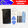 DOOGEE X3 LCD Screen Display Original New Tested Top Quality Replacement LCD Display For X3 Free Shipping+tools