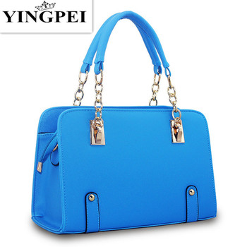 Custom Review YINGPEI Women Messenger Bags Casual Tote Femme Fashion Luxury Handbags  Women Bags Designer Pocket High quality 8d82b2b5299c