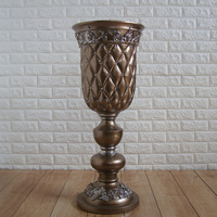 Контракт типа Европа смолы пол белая ваза