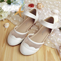 Hot sale children shoes girls shoes beautiful lace princess shoes kids fashion hollow sandals girls new single shoes girls