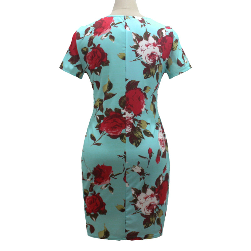 HTB1rEjSXg6DK1JjSZPhq6y8uVXaL 2019 Autumn Plus Size Dress Europe Female Fashion Printing Large Sizes Pencil Midi Dress Women's Big Size Clothing 6XL Vestidos
