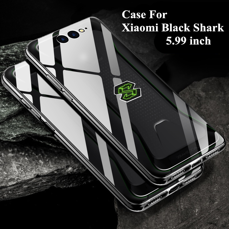 Filminess Soft Silicone Back Cover For Xiaomi Black Shark Case Phone Housing High Transparency Luxury Fundas Shell Skin Coque thumbnail