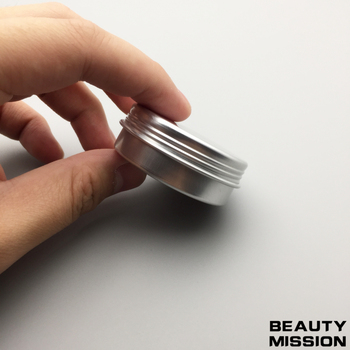 BEAUTY MISSION 100pcs/lot 20G Aluminum Jar 20ml metal Cosmetic Packaging Container professional cosmetics container