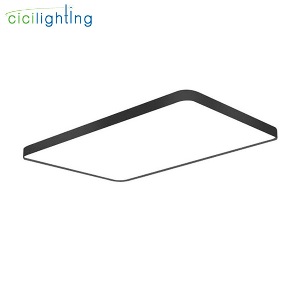 LED Ceiling Light Modern square Lamp Living Room Lighting Fixture Bedroom Kitchen ultra thin rectangle led ceiling lamp blackLED Ceiling Light Modern square Lamp Living Room Lighting Fixture Bedroom Kitchen ultra thin rectangle led ceiling lamp black