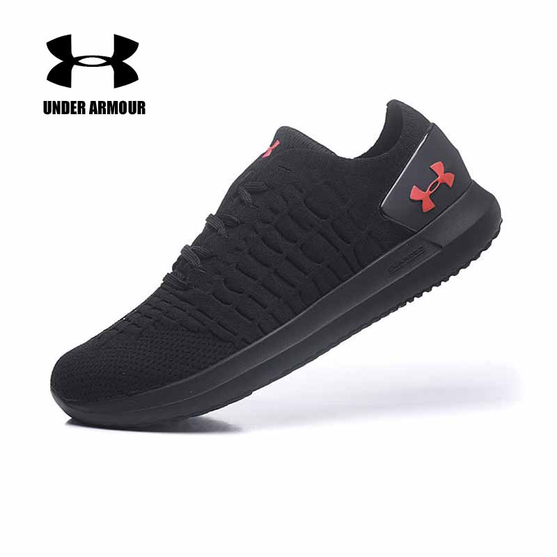 Under Armour Charged Men running shoes knitted soft Cushion Sneakers Fitness Sports shoes zapatillas hombre deportiva US 7 11