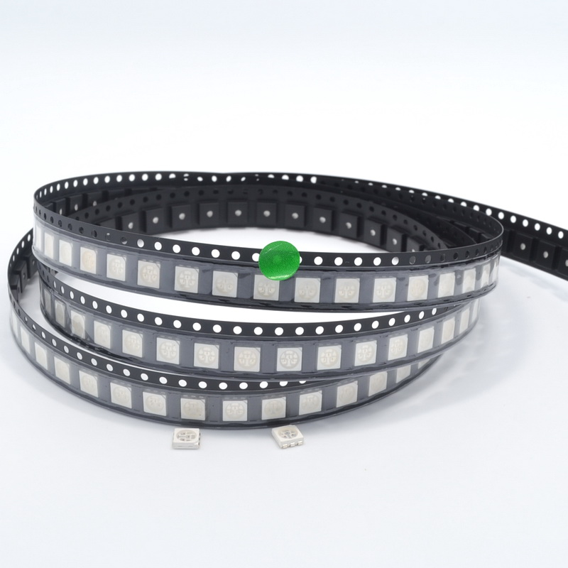 Back To Search Resultslights & Lighting 500pcs 5050 Smd Smt Green Plcc-6 3-chips Ultra Bright Diode Led 520~525nm 60~800mcd 3.0~3.4v Light-emitting Diodes Highpower Led High Quality And Low Overhead Lighting Accessories