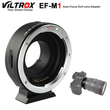 Viltrox EF-M1 Lens Adapter Ring Mount AF Auto Focus for Canon EF/EF-S Lens to M4/3 Micro Four Thirds Camera for GH5/4/3 Olympus цена 2017