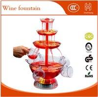 Công cụ bên Cocktail đài phun nước champagne đài phun nước rượu vang đỏ đài phun nước