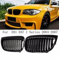 Решетки для BMW E87/E81 1 серия 2004-2007 пара матовый черный/матовый черный M/глянец Черный M Передняя Спортивная почечная решетка