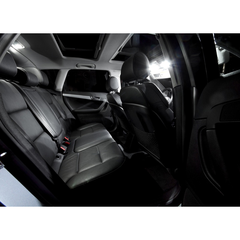 A3 8P üçün XIEYOU 12 ədəd LED Canbus Daxili işıqlar dəsti - Avtomobil işıqları - Fotoqrafiya 4