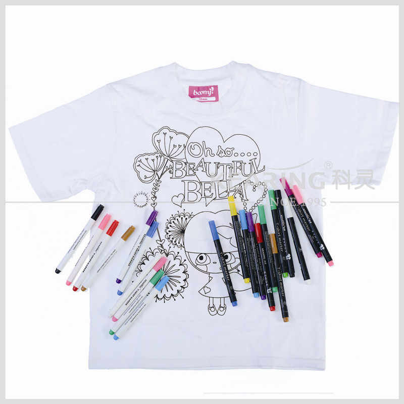Hot Sale Sublimation Crayon transfer marker printing pen Cloth art pen DIY T-shirt  pen  Watercolor pen Crayons Drawing Pencils