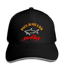 Бейсбольная кепка Paul and Logo Print hat Yachting черный выпуск мужская шляпа тренд