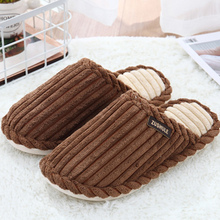 цены Large Size 43-44 Home Slippers Women TPR Butterfly Knot Gingham Corduroy Comfortable Winter Slippers For Girls Casual