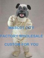 フレンドリークリームパグ犬マスコット衣装大人サイズ漫画のキャラクターマスコット衣装のスーツファンシーdressホリデーカーニバルsw719