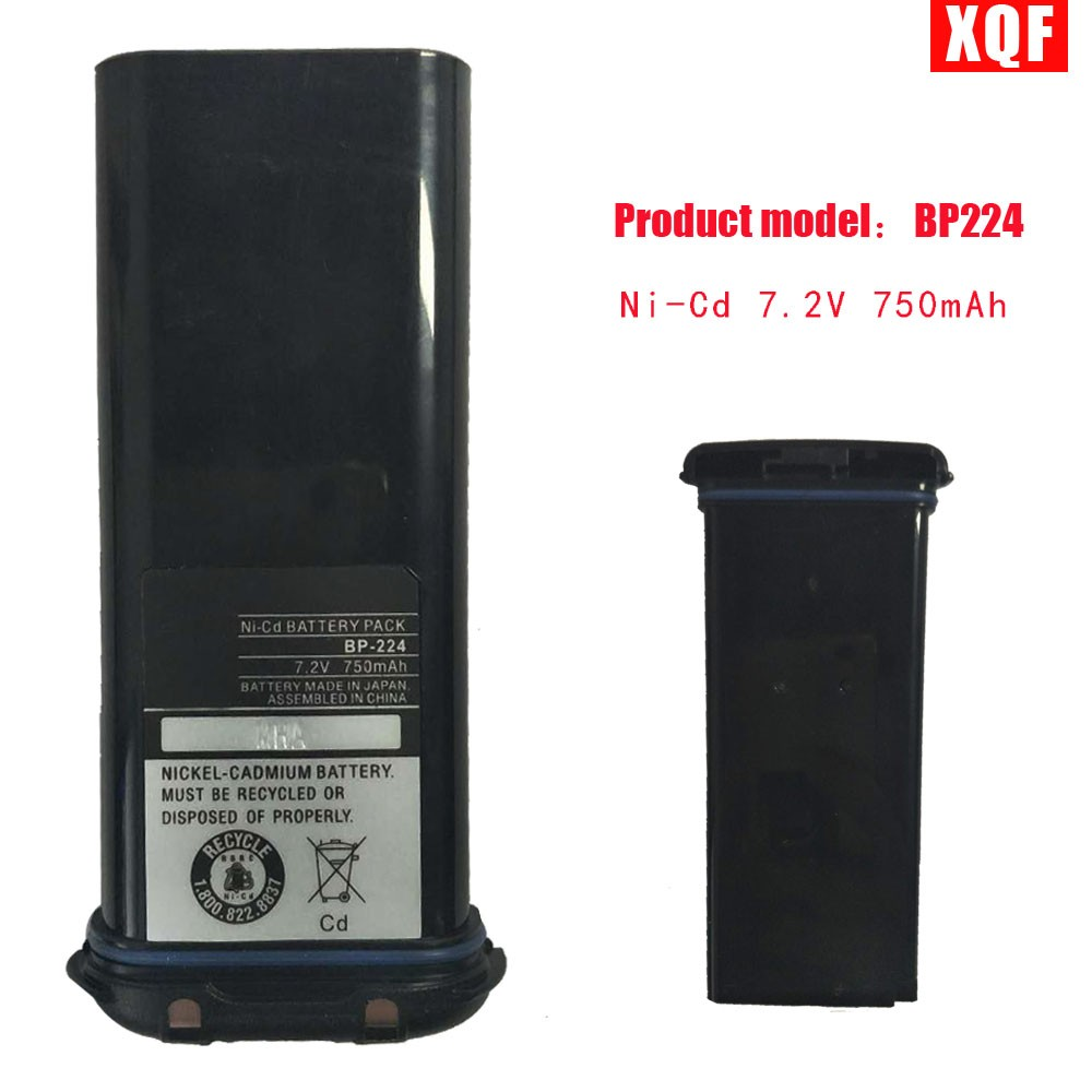 XQF Battery For ICOM BP-224 7.2V/750mA Battery For IC-M2A IC-M2 IC-GM1600 IC-M32 IC-M31