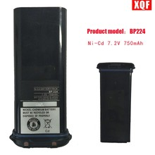 XQF Battery For ICOM BP-224 7.2V/750mA for IC-M2A IC-M2 IC-GM1600 IC-M32 IC-M31