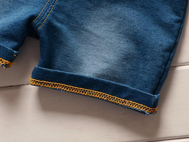 Baby boy clothing set (tops and bib shorts 2 pcs)