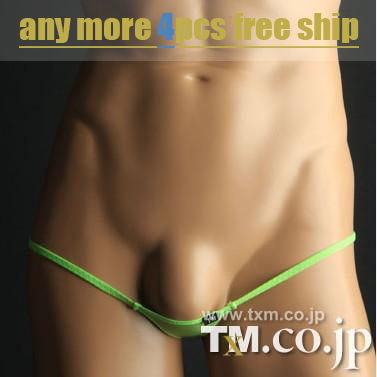 Exotic Underwear Thongs Sex-Toy Sexual Mens G-Strings Ice-Silk Sexy TM Fashion Mini Gay