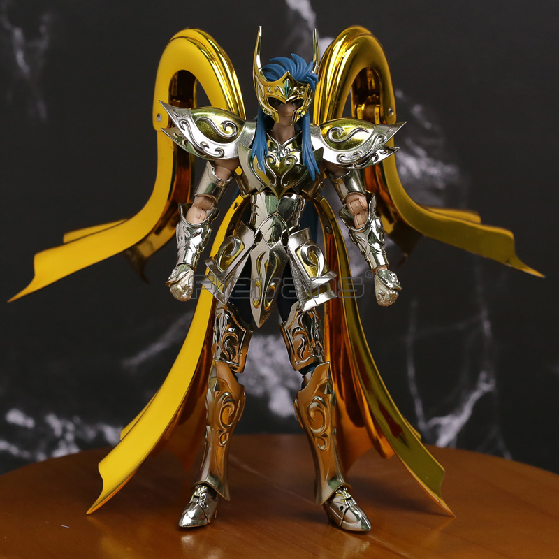 Aquarius Camus Saint Seiya EX Soul of Gold SOG Metal Armor Gold Myth Cloth Toy Action Figure bandai saint seiya seiya statue tribute shokugan camus o rudi pakistan ice saga