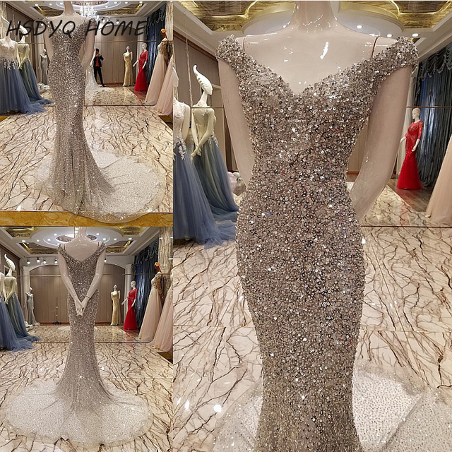 Beading Prom Evening Dresses Sexy Evening Dress Propose A Toast The