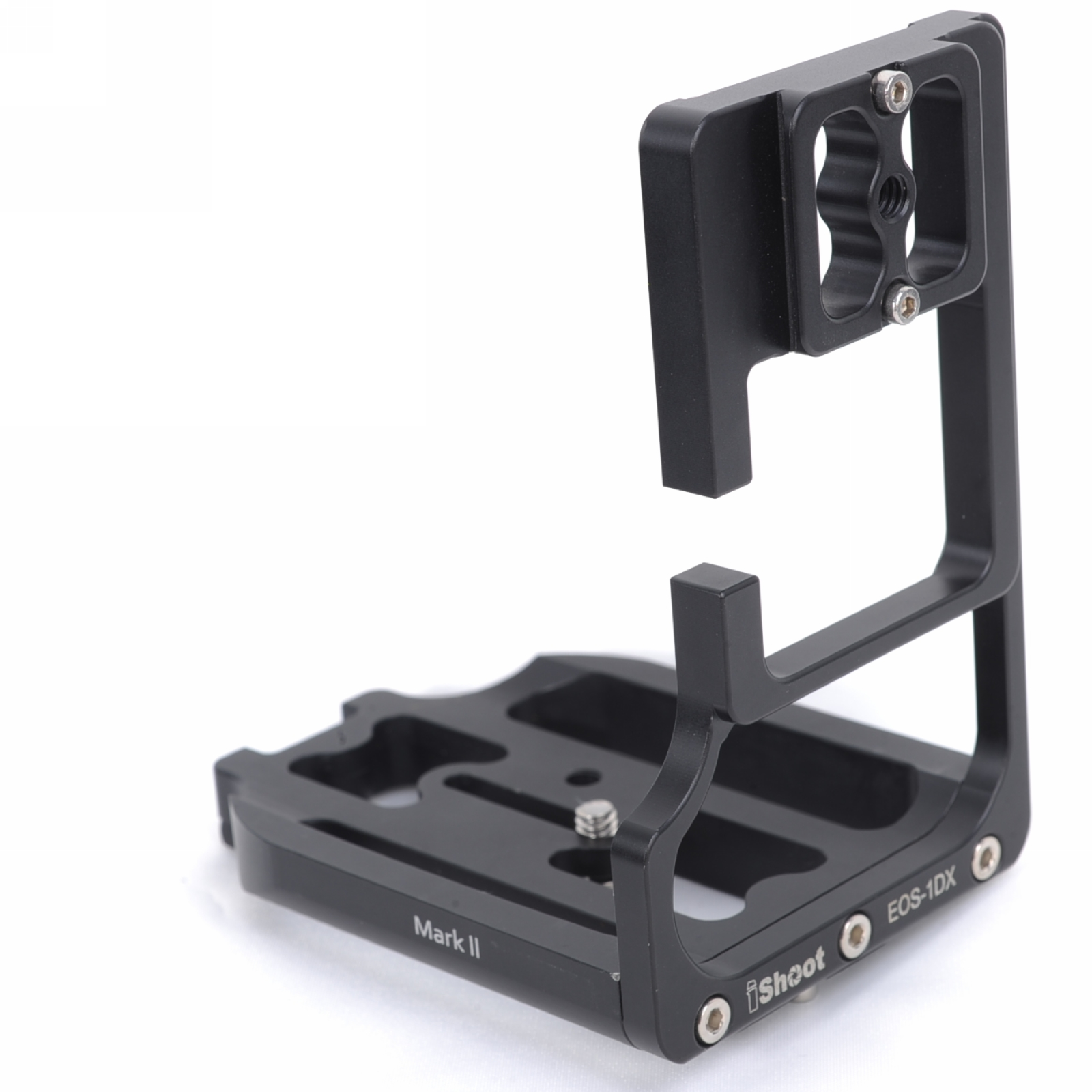 L-shaped Vertical Quick Release Plate Camera Holder Bracket Grip for Canon EOS 1DX & Mark II Used to Arca fit Tripod Ball Head