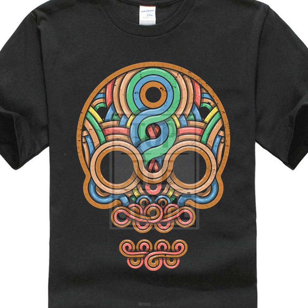 1fe3c1e7875 Detail Feedback Questions about 2018 Fashion Short Tee Inca Skull T Shirt  Inka Mayans Maya Aztecs Azteken American Indians Sugar Candy on  Aliexpress.com ...