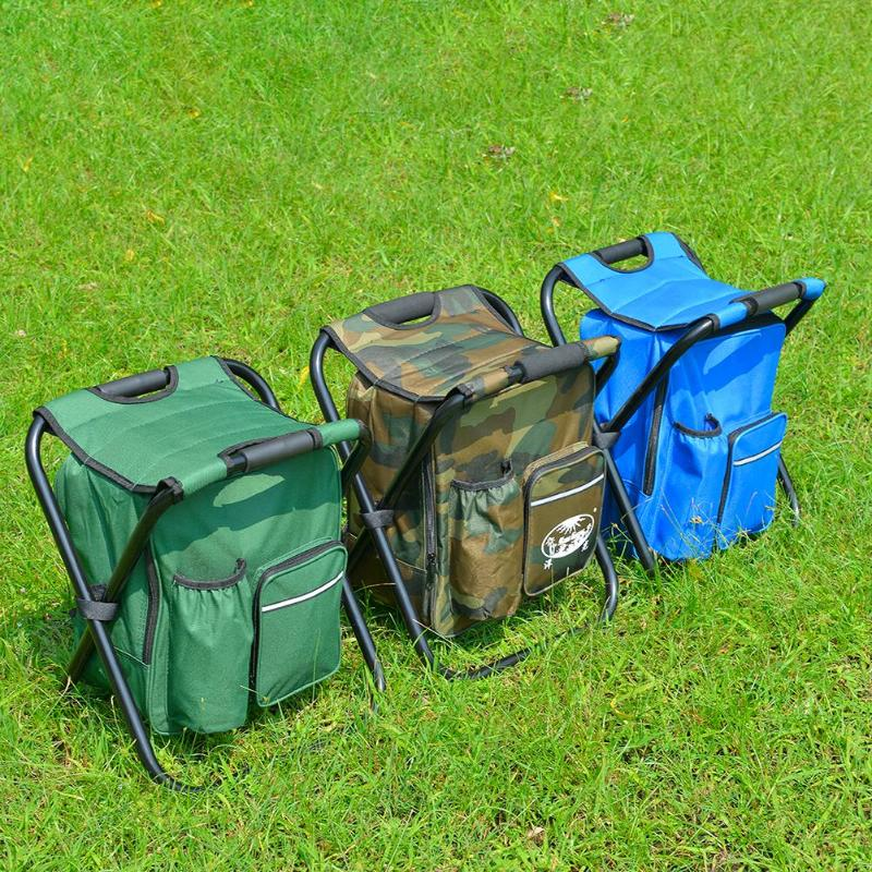 Outdoor-Folding-Camping-Fishing-Chair-Stool-Portable-Backpack-Cooler-Insulated-Picnic-Bag-Hiking-Seat-Table-Bags