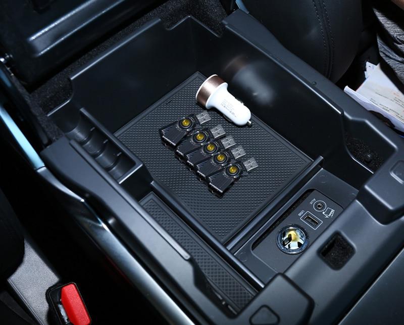 1 шт. подкладке центр Arm подлокотник органайзер для Range Rover/Range Rover Sport 2014-2017