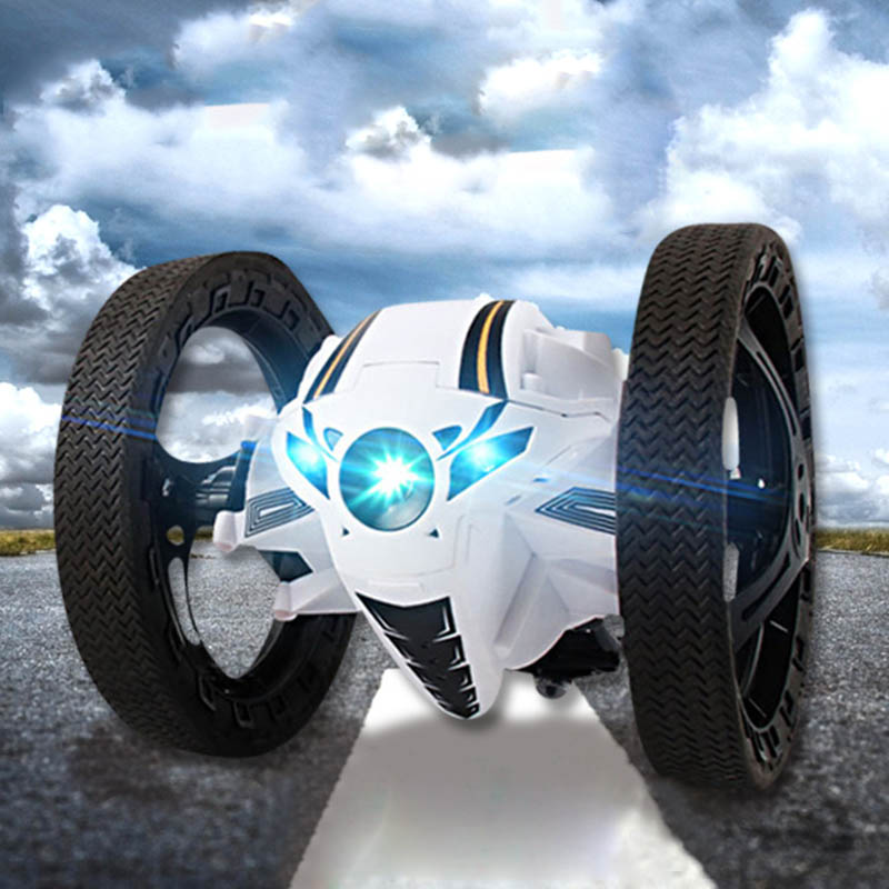 Leaping Dragon 2.4G RC Bounce Car with LED Night Lights