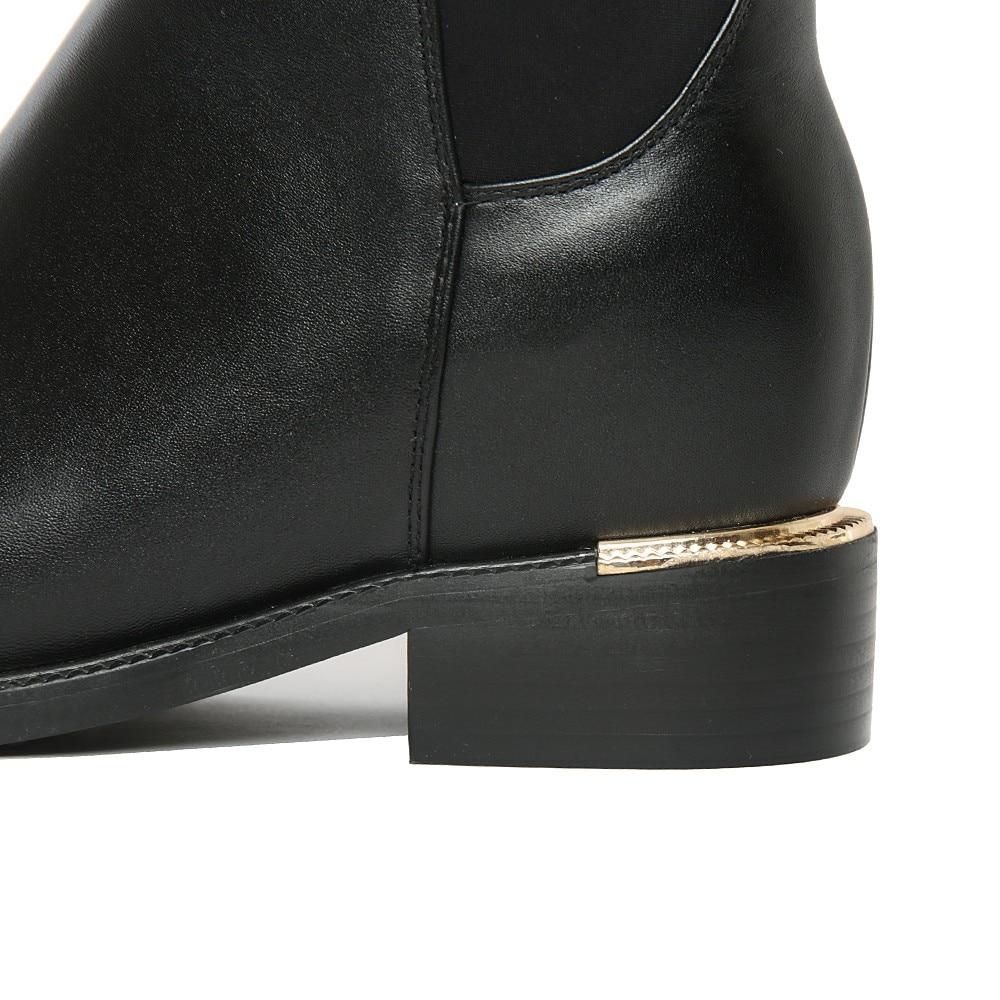 Original Intención Súper Gorgeous Mujeres Rodilla Botas Altas - Zapatos de mujer - foto 6