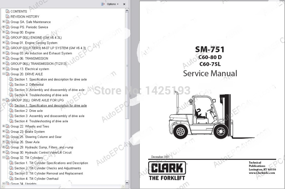 Clark service manual 2014 in software from automobiles clark service manual 2014 in software from automobiles motorcycles on aliexpress alibaba group sciox Gallery