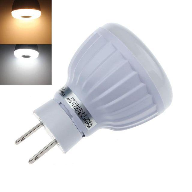 AC 90 265 V 5 W PIR Infrarood Sensor Bewegingsmelder Led Lamp Lamp ...